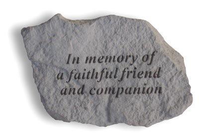 Kay Berry Ireland Grabdenkmal/Ornament, für Einen Freund, englischsprachige Aufschrift -