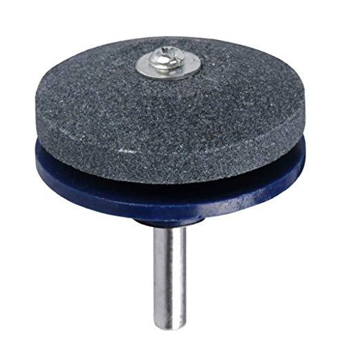 kesoto Rasenmäher-Spitzer Lawnmower Sharpener Schleifen Gartenwerkzeuge für Bohrmaschine Handbohrmaschine - Blau, wie beschrieben