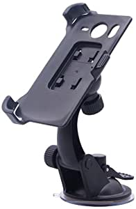 Pure² Support de voiture pour iPhone 5/5S/5C anti vibration et flexible à 360°