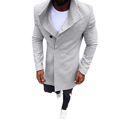 Jyc-abrigo de hombre the best Amazon price in SaveMoney.es f317efa7113e