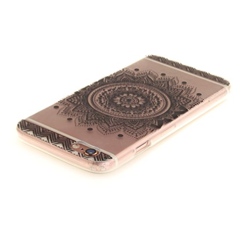 A9H iPhone 6/6S 4.7 Hülle mit Kameraschutz transparent dünne Schutzhülle Case Cover für iPhone 6/6S aus flexiblem TPU -27HUA 14HUA