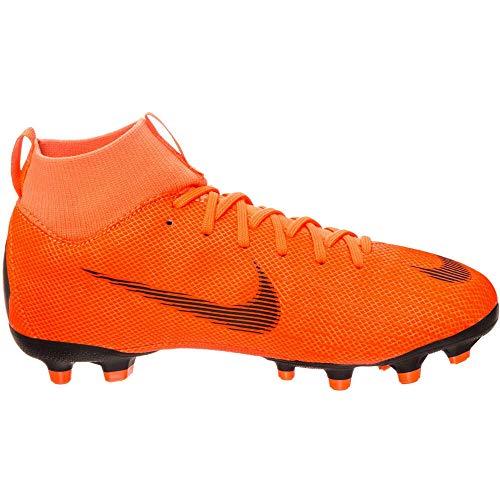 Nike Unisex-Kinder Mercurial Superfly VI Academy MG Fußballschuhe, Orange/Schwarz, 37.5 EU