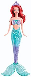 Disney Princess – La Petite Sirène – Splashing Ariel – Pourpée Aquatique 33 cm