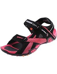 Sparx Men Black / Red Sandals & Floaters SS-433