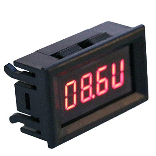 Cuigu Tachometer Tachometer, 2-in-1, LED, für die Automatische Drehzahl des Motorrads