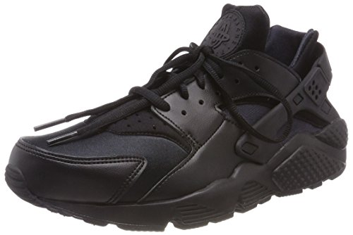 Nike Damen WMNS AIR Huarache Run Sneaker, Schwarz Black, 39 EU