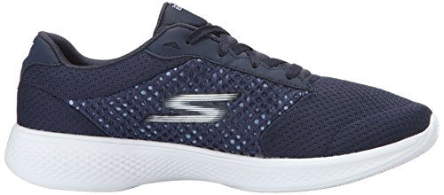 Skechers Damen Go Walk 4-Exceed Sneakers Blau (Nvw)