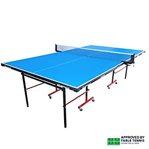 ... Gymnco Economy Full Size Table Tennis Table With Wheel (Both Side  Laminated Top 18