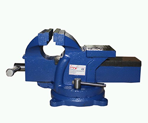 foxhunter-bench-vice-vise-5-inch-125mm-jaw-clamp-swivel-base-for-workbench-work-table-garage-tool-wo