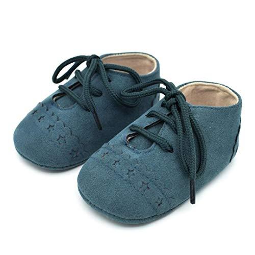HhGold Baby-Kleinkind-Schuhe Sneaker Anti-Slip weiche Sohle Schnürschuhe (11, GN) (Farbe : Wie Gezeigt, Größe : Einheitsgröße)