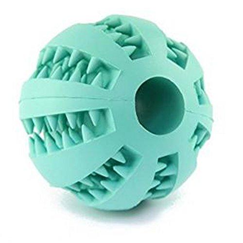 Cdet Juguetes para perros mascotas pelota de sandía resistente al caucho perro...