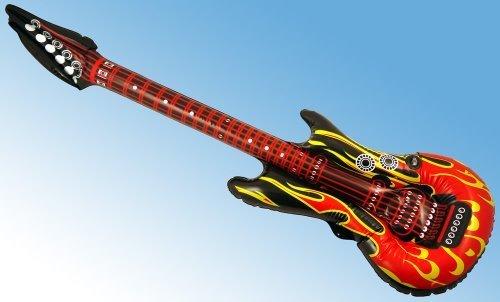 Henbrandt - Guitarra eléctrica hinchable (106 cm)