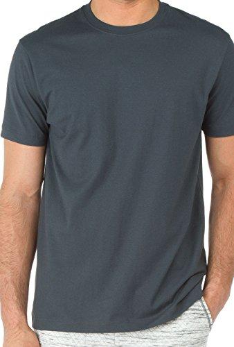 Calida Herren T-Shirt Remix Basic Anthracite