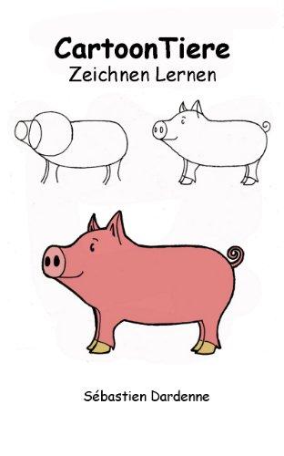Cartoon Tiere Zeichnen Lernen Ebook Sébastien Dardenne Amazon De