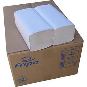 fripa 4012103 Handtuchpapier, 250 x 230 mm, V-Falz, weiß