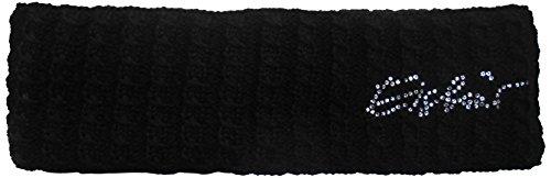Eisbär Damen Mütze Selina Small Crystal STB Stirnband, schwarz, One Size -