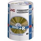 JVC DVD+R 100 PACK SPINDLE