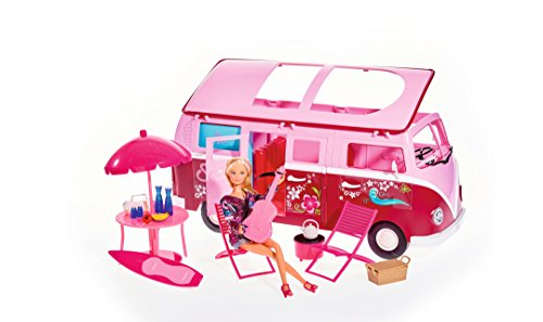 Simba 105739423–Poupée Steffi Love Hawaii Camper