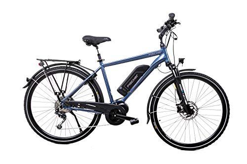 28 Zoll Fischer Alu Herren Elektro Fahrrad E-Bike Pedelec Trekking Bike 48V Shimano 9 Gang