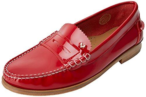 Martinelli Anaya 1362-3363cym, Mocasines Mujer Rojo (rojo)