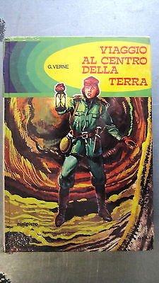 G. Verne: Viaggio al centro della terra Blisterato 1973 Ed.Malipiero A30