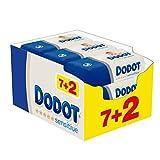 Dodot Sensitive Toallitas para Bebé, 9 paquetes de 54 unidades, 486 toallitas