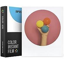 Impossible 4524 película de color instantánea para cámaras Polaroid 600, 8 fotografías con marco redondo
