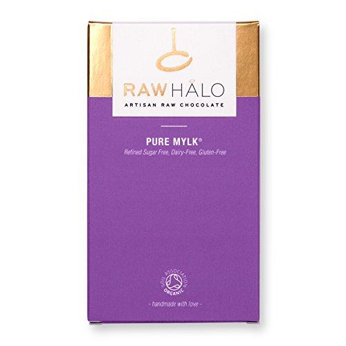 Raw Halo Pure Mylk Raw Chocolate Bar, 35g