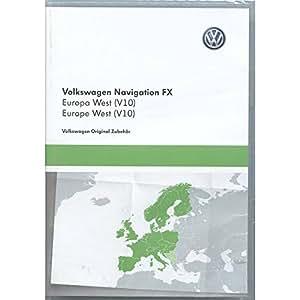 volkswagen 3c8051884dd sd karte navigation v10 europa rns. Black Bedroom Furniture Sets. Home Design Ideas