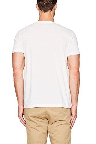 ESPRIT Herren T-Shirt Weiß (White 100)