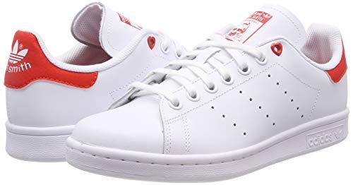 brand new 339b9 c8b93 adidas Stan Smith J G27631, Scarpe da Ginnastica Basse Unisex-Bambini,  Bianco (White), 38 EU. Visualizza le immagini