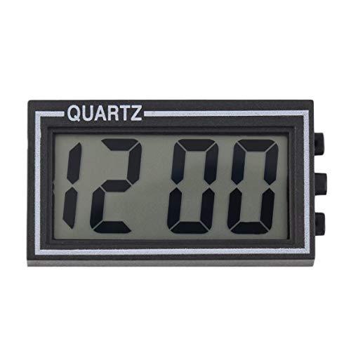 igitale di piccole dimensioni con tavolino LCD digitale da tavolo Scrivania calendario con data e ora Piccolo orologio con funzione calendario TS-CD92 (come mostra l'immagine) ()