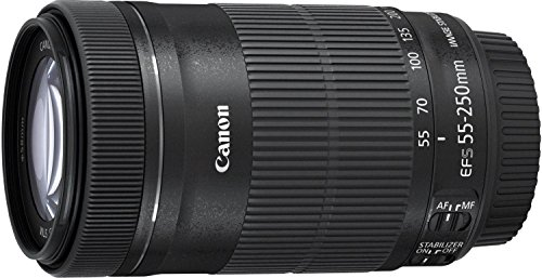 Great Buy for Canon EF-S 55-250mm f/4-5.6 IS STM Lens kit, Includes Maxsimafoto UV filter/Protector , Lens Pouch and Lens hood as ET-63 on Line