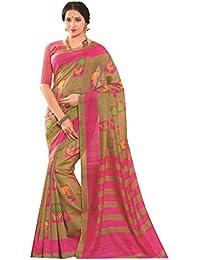 Design Willa Women's Cotton Saree With Blouse Piece (Dwshr042,Multicolor,Free Size)