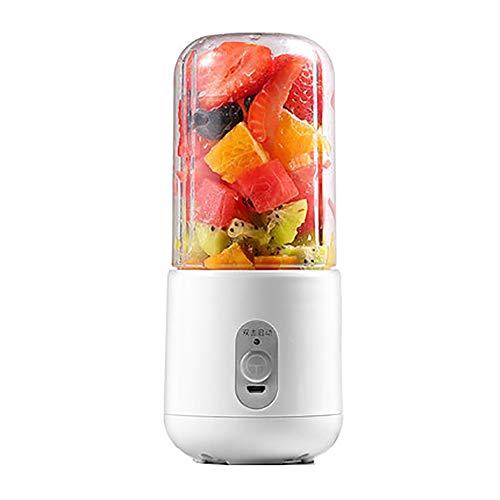 Mini Entsafter Tragbarer Akku Mixer USB Wiederaufladbarer Entsafter Elektrische Saftpresse Obst und Gemüse Kleiner Entsafter Tragbare Smoothie Maker Mobiler Standmixer Kleine Citruspresse Obstsanft (Maker Gemüse)