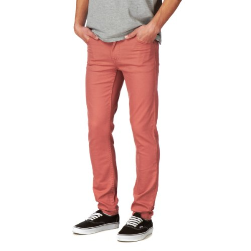 Herren Jeans Cheap Monday Tight Jeans Red