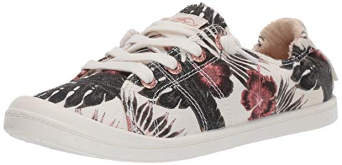 Roxy Damen Bayshore Slip On Sneaker Shoe Turnschuh, White Ringer, 37.5 EU (Von Sneaker Roxy)