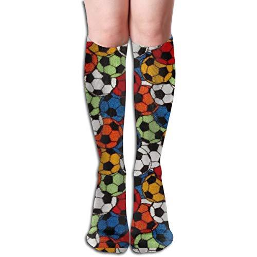 ghkfgkfgk Whisper Soccer Microfaser Unisex elastische lange Socken Compression Kniestrümpfe für Sport, Laufen, Reisen 19,7 Zoll -