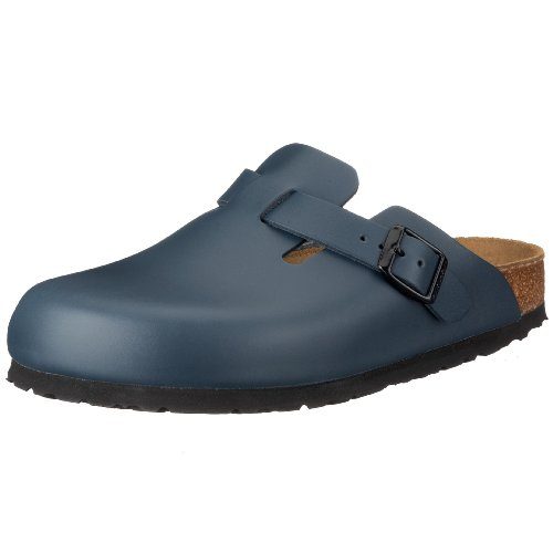 Birkenstock Boston - Sabot unisex - adulto Blu (Blue)