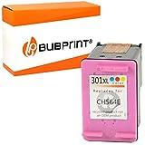 Bubprint Druckerpatrone kompatibel für HP 301 XL DeskJet 1000 1010 1050 1510 2050 2540 2544 2545 3050A 3055A Envy 4500 4502 4504 4508 5530 OfficeJet 2620 2622 4630 4632 4634 4636 Farbe