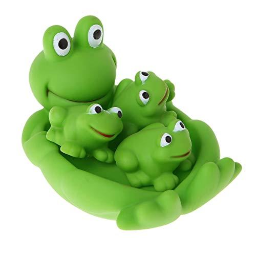 lität Baby Badespielzeug, niedlichen Tier Float quietschenden Klang Dusche Wasser Baby Badewanne Badewanne Spielzeug Set ()