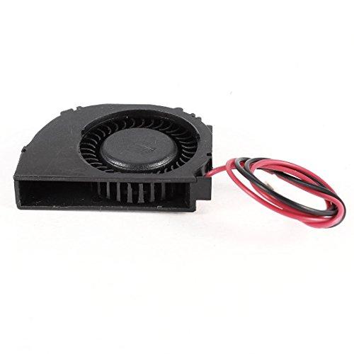 Laptop 2 Terminals CPU-Kühler Gebläse-Ventilator DC 5V 0,15A Schwarz (5v Gebläse)