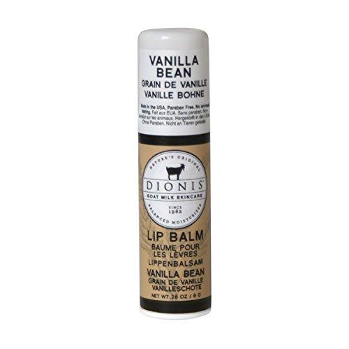 DIONIS Goat Milk Skincare Lippenpflege Vanille | 1x Natürlicher Lippen Pflegestift mit Ziegenmilch & Kokosöl