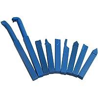 BQLZR 10 x 10 mm azul YT15 punta de carburo de aleación con punta de corte