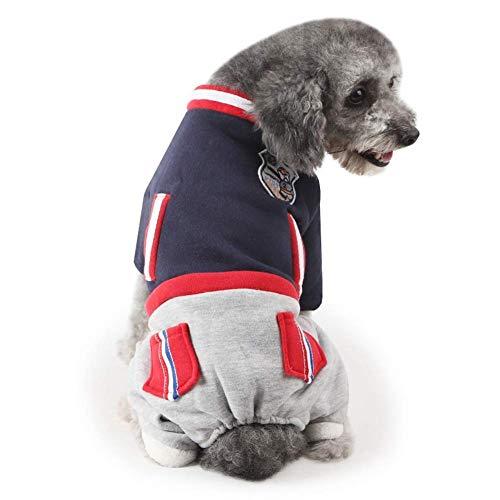 Je Womens Hoodie (HYCy Haustier-Kostuuml;m, Hund Overall Warm Pet Kleidung Winter Gepolstert Jacke Katze Huuml;ndchen Kostuuml;m Hoodies)