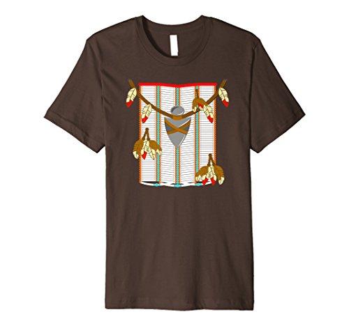 indischen Kostüm Shirt einseitig -