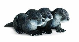 Safari Ltd  Incredible Creatures North American River Otter Babies