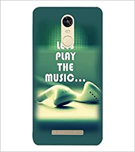PrintDhaba Quote D-2368 Back Case Cover for XIAOMI REDMI NOTE 3 (Multi-Coloured)