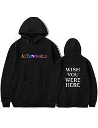 JJZHY Travis Scott Astroworld Fashion Letter Imprimir Hoodie con Gato Bolsa  Unisex 4 Color 91bf2d3743315