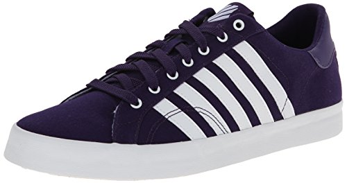 K-Swiss Belmont so T M, Damen Sneakers, Violett (Parachute Purple/White 596), 42 EU (K-swiss Purple Schuhe)